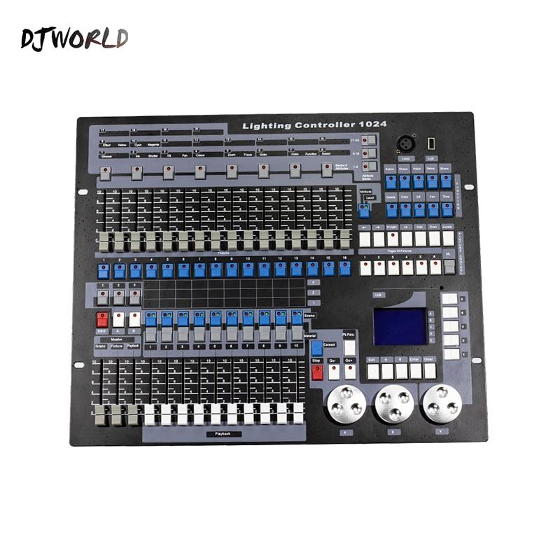 DJworld DMX Console 1024 Controller For Stage Lighting DMX 512 DJ Controller Equipment  International Standard