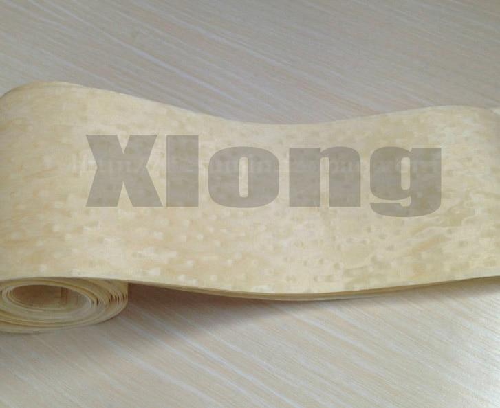 L:2.5Meters Width:15CM Thickness:0.25mm White Eye Veneer Wood Technology Handmade Leather Furniture Edge Banding