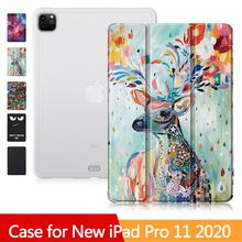 Ultra-cienki pokrowiec na nowy Tablet iPad Pro 11 pokrowiec silikonowy miękki pokrowiec na iPad Pro 2020 pokrowiec 11 cali pokrowiec na ipada tanie tanio XINYITONG Osłona skóra New ipad pro 11 2020 Drukuj 18 5cm Dla apple ipad IPad Pro 11 cali Na co dzień Odporny na wstrząsy