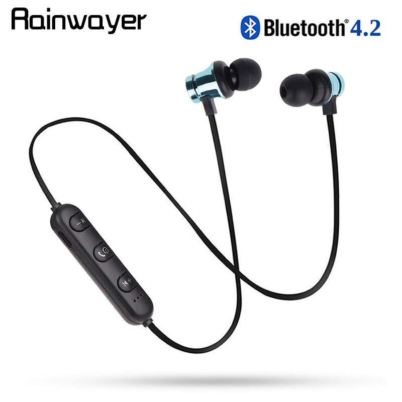 Bluetooth Earphone XT11 Sports Running Wireless Bluetooth Magnetic Music Headset With Mic For IPhone 8 X 7 Huawei A2