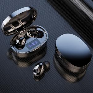 Image 5 - Tws אלחוטי Bluetooth אוזניות אוזניות רעש ביטול טעינת תיבת ספורט עמיד למים Bluetooth 5.1 אוזניות עבור כל טלפון