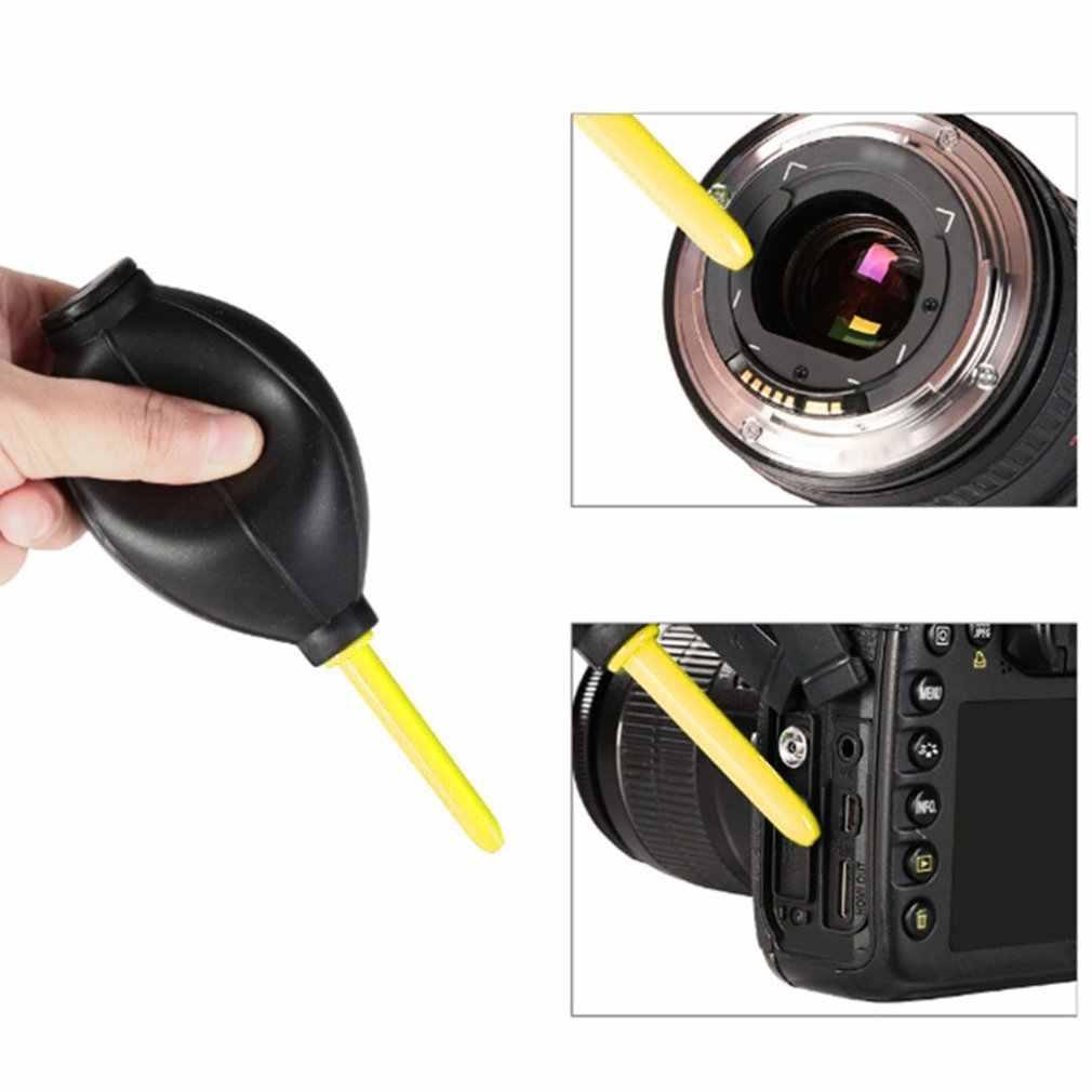 For Canon For Nikon For Sony 5-In-1 Set Dust Cleaning Tools Camera Lens Cleaning Brush Wipe Hair Dryer Set