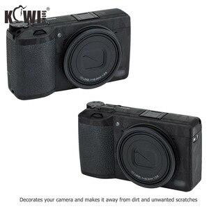 Image 2 - Kiwi Anti kras Camera Body Skin Beschermende Film Kit Voor Ricoh GR III GRIII GR3 GR Mark III Camera 3M Stickers Shadow Zwart