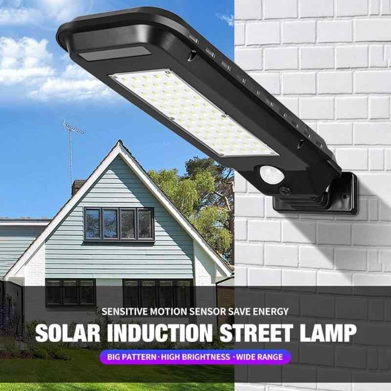 100/210 COB 40/60LED Solar Licht Outdoor IP65 Wasserdichte Solar Street Lampe Hof beleuchtung wand licht Garten Beleuchtung