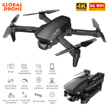 2021 GD93 Mini Drone Professional 4k HD Dual Camera WiFi FPV Drone Height Keeping Optical Flow Foldable RC Quadcopter Toys Gift