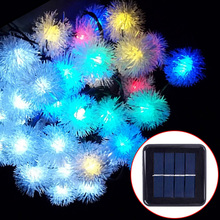 dandelion solar led string…