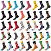 Chaussettes en coton peigné Unisexe style Hip Hop