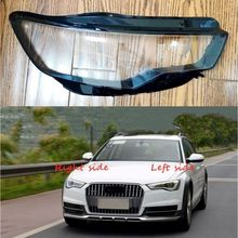 For Audi A6 C7 2012 2013 2014 2015 Car Headlight cover Headlamp Lens Auto Shell Auto