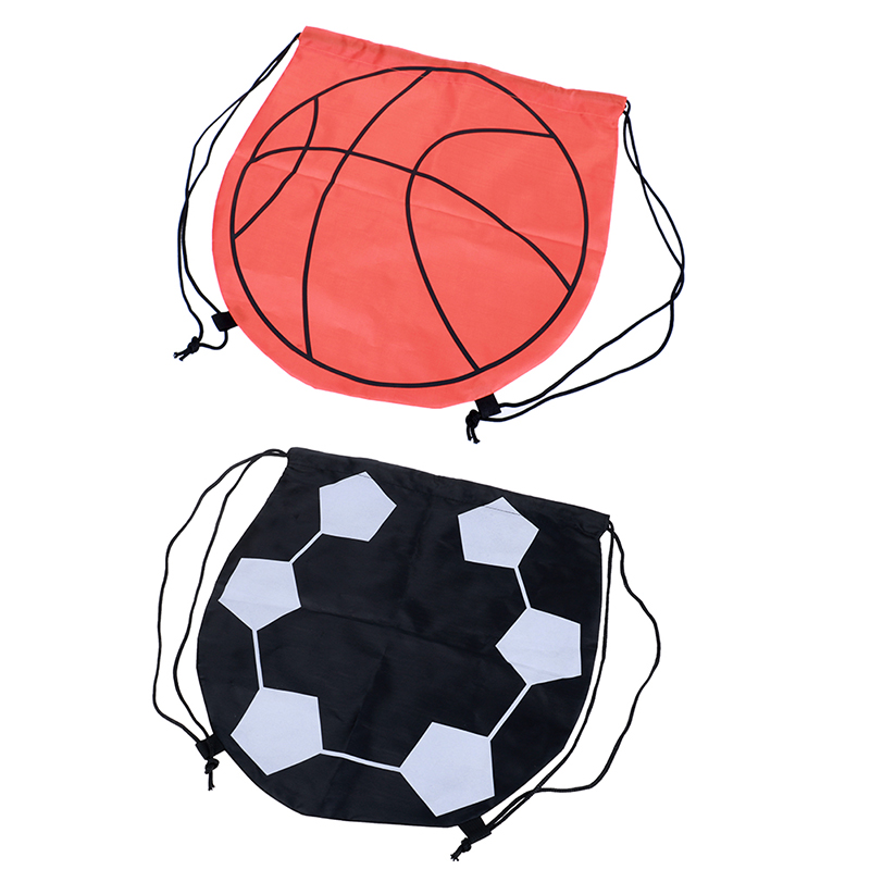 1pc Basketball Bags Carry Bag Sports Balls Outdoor Durable Thicken Nylon Bag