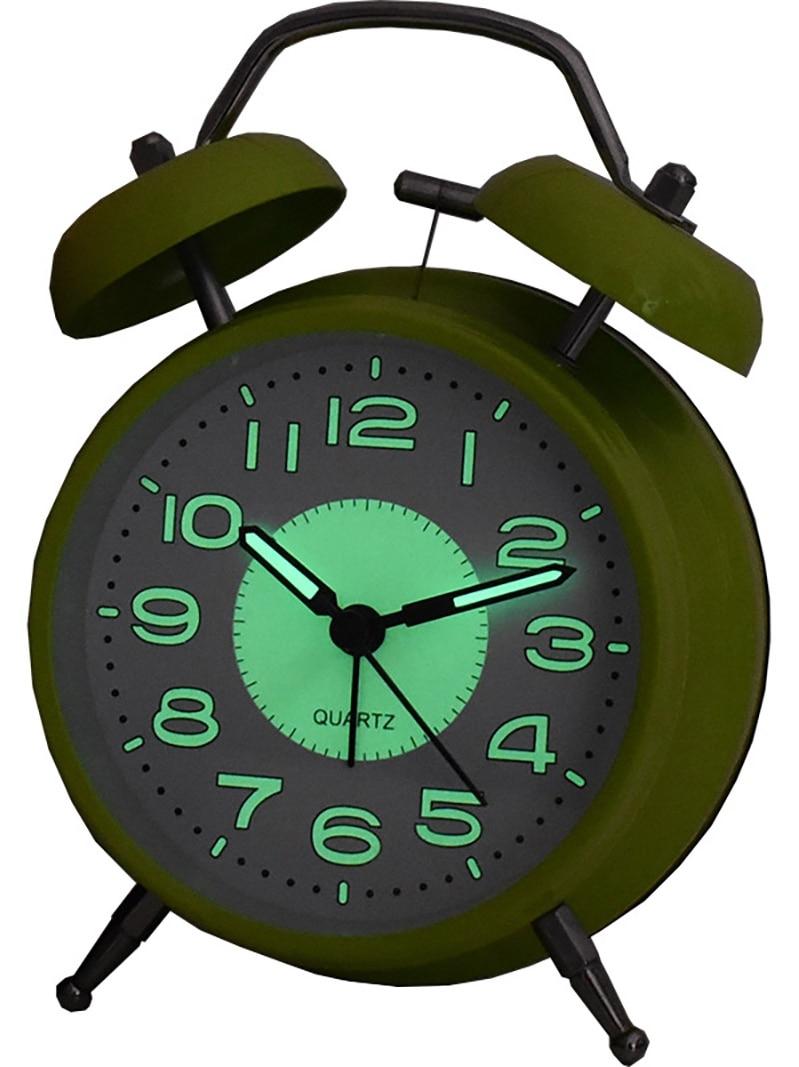 Alarm Clock Metal Simple Loud Backlight