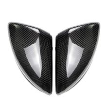 цена на Carbon Fiber Replacement Side Wing Rear View Rearview Mirror Cover For Mercedes