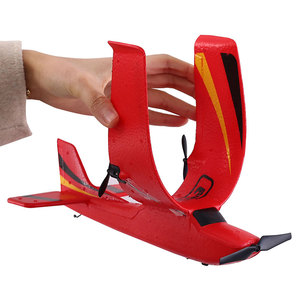 Image 5 - Z50 RC 비행기 2.4G 무선 RC 공기 비행기 EPP 거품 소년 아이를위한 자이로 글라이더 300mAh RC 비행기 무선 제어 항공기 장난감을 건축했다