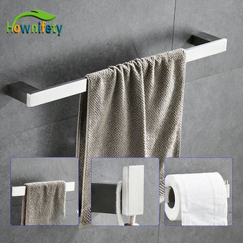 Paper Holders Euro style Bathroom Accessories Stainless Steel Bath Hardware Set Bathroom fitting Towel ring Towel ring 1