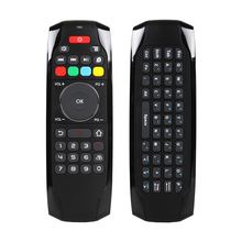 G7 Air Mouse Keyboard 2.4G RF Smart Remote Control with  with 6-axis Gyro for Android TV Box Computers Motion Sensing Game original rii mini i7 2 4g wireless fly air mouse remote control motion sensing built in 6 axis for android tv box smart pc