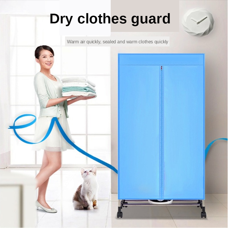 Multi-functional Mini Clothes Dryer Household PTC Drying Apparatus Mute Clothes Dryer Quick Drying Clothes Laundry Drier 220V