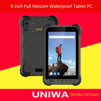 UNIWA P300 PRO 8 Inch IP67 Waterproof Table PC 4GB RAM 64GB ROM 8000mAh 250 Hours Standby Support Fast Charger Table PC - DISCOUNT ITEM  33 OFF Cellphones & Telecommunications