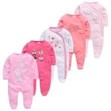 Baby Pyjamas Ropa-Bebe Sleepers Newborn Girl Boy Cotton 5pcs Soft Breathable