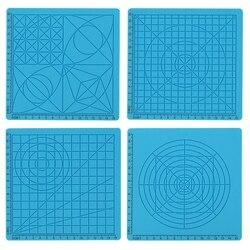 Mata silikonowa 3D Pen akcesoria dzieci tablica do pisania szablon narzędzia edukacyjne dla dzieci