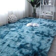 Tapis nordique en peluche pour salon et chambre à coucher, de grande surface, Super mignon et confortable