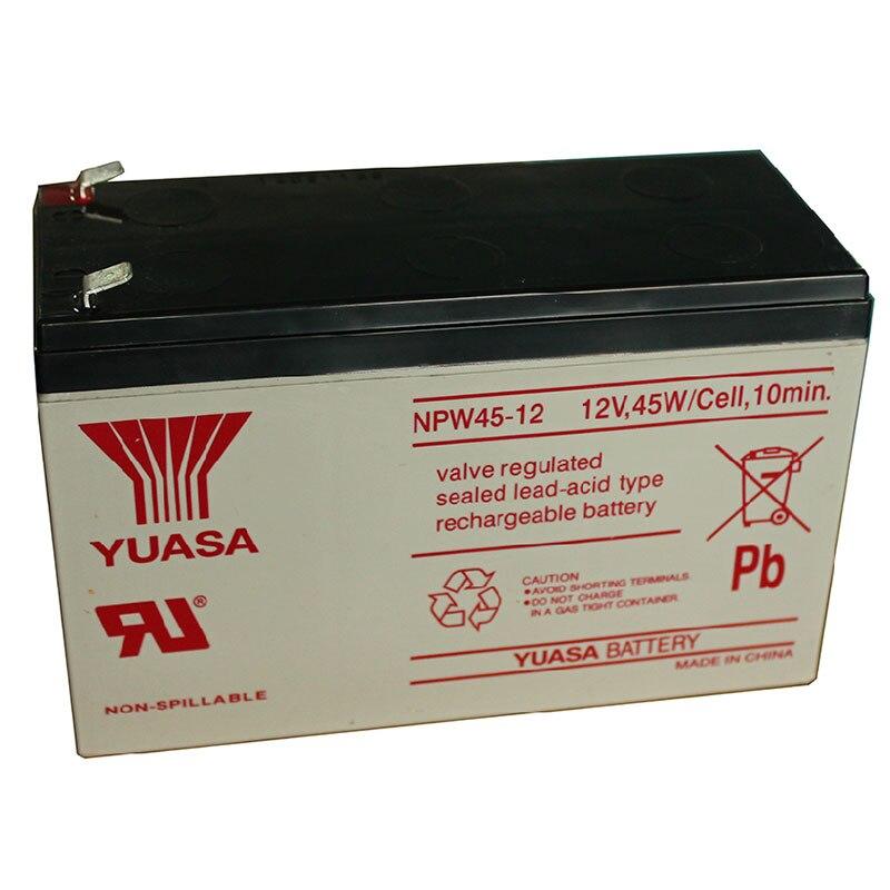 Rechargeable Battery 12V 45W NPW45-12 12V 9AH NP0.8-12 12V 0.8AH