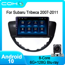 COHO pour Subaru Tribeca 2007-2011 Auto voiture Navigation vidéo multimédia GPS lecteur vidéo Android 10 Octa Core