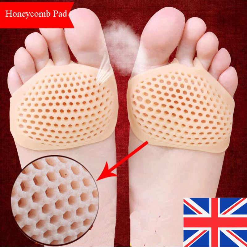 2020 HOT Functional Free shipping Silicone Honeycomb Forefoot Pad Foot Versatile Use Reusable Pain Relief Foot Care Tool