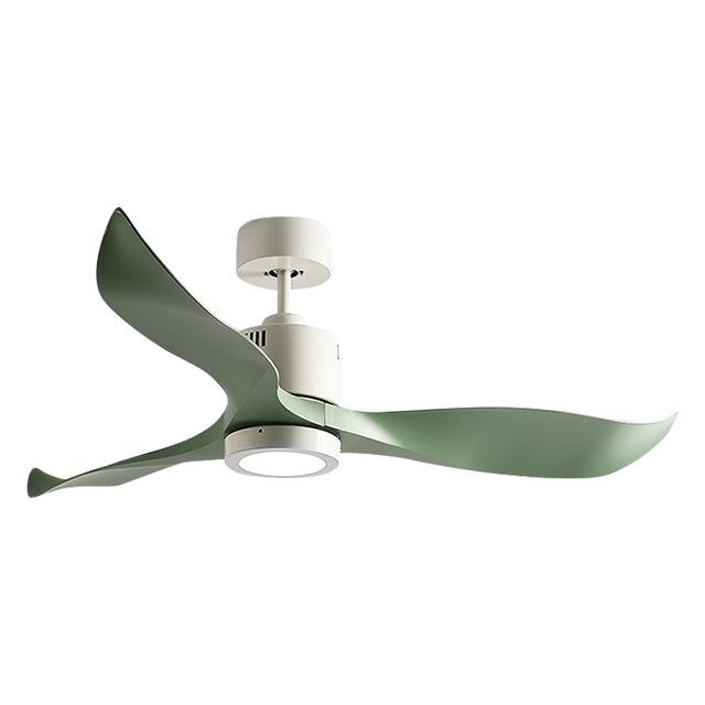 LED Ceiling Fans With Lights 220V Lamp Indoor Lighting Decor Ventilateur De Plafond