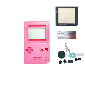Image 3 - IPS Customized Shell with buttons for GBP Brightness IPS LCD Screen Kits with glass lens housing shell sets for GameBoy Pocket
