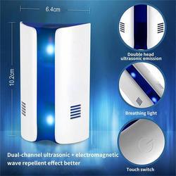 Ultradźwiękowy ABS Home Mouse Expeller elektroniczny odstraszacz szkodników skuteczne wielofunkcyjne myszy przeciw komarom