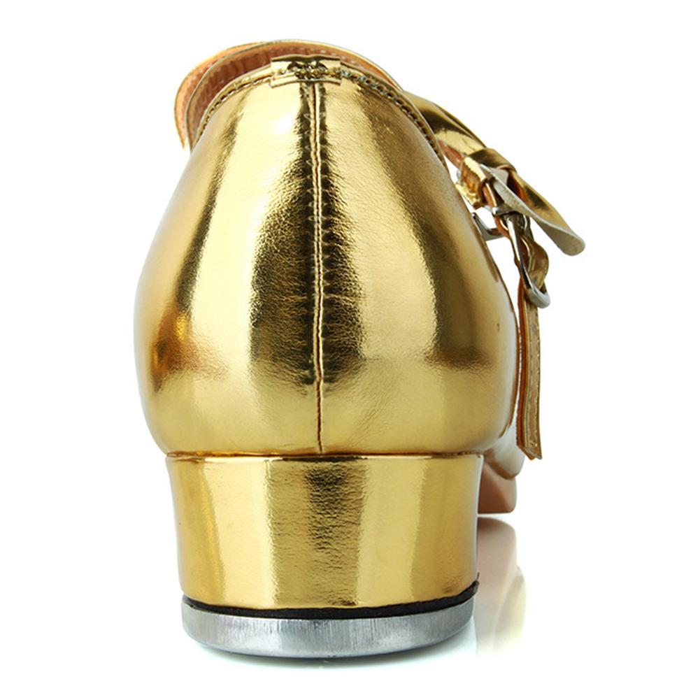 Meninas Sapatos de Dança Tap Patente Brilhante
