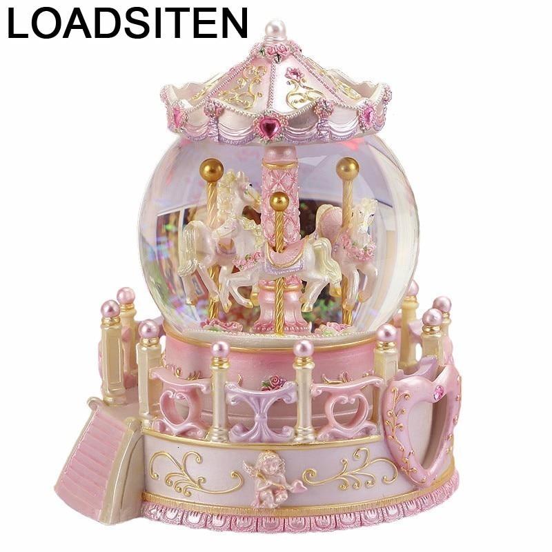Caixa Presente пишущая машинка Carrusel Musicale La Land Snow Globe Boite A Musique Carousel Caja De Musica музыкальная шкатулка