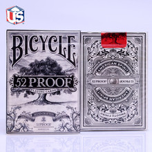 1pcs 52 Proof Playing Cards Deck Magic Cards Playing Card Poker Close Up Stage Magic Tricks for Professional Magician bicycle tragic royalty playing cards original poker cards for magician collection card game