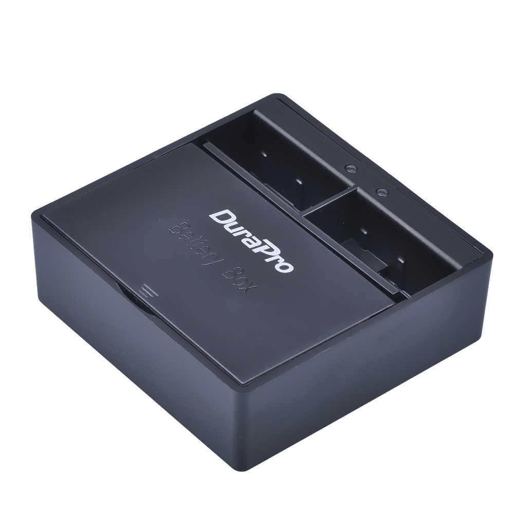 2 قطعة 1600mAH AHDBT-501 AHDBT 501 AHDBT501 قابلة للشحن بطارية ليثيوم أيون + شاحن USB مزدوج مربع للكاميرا Gopro 5 Hero5 AHDBT 501
