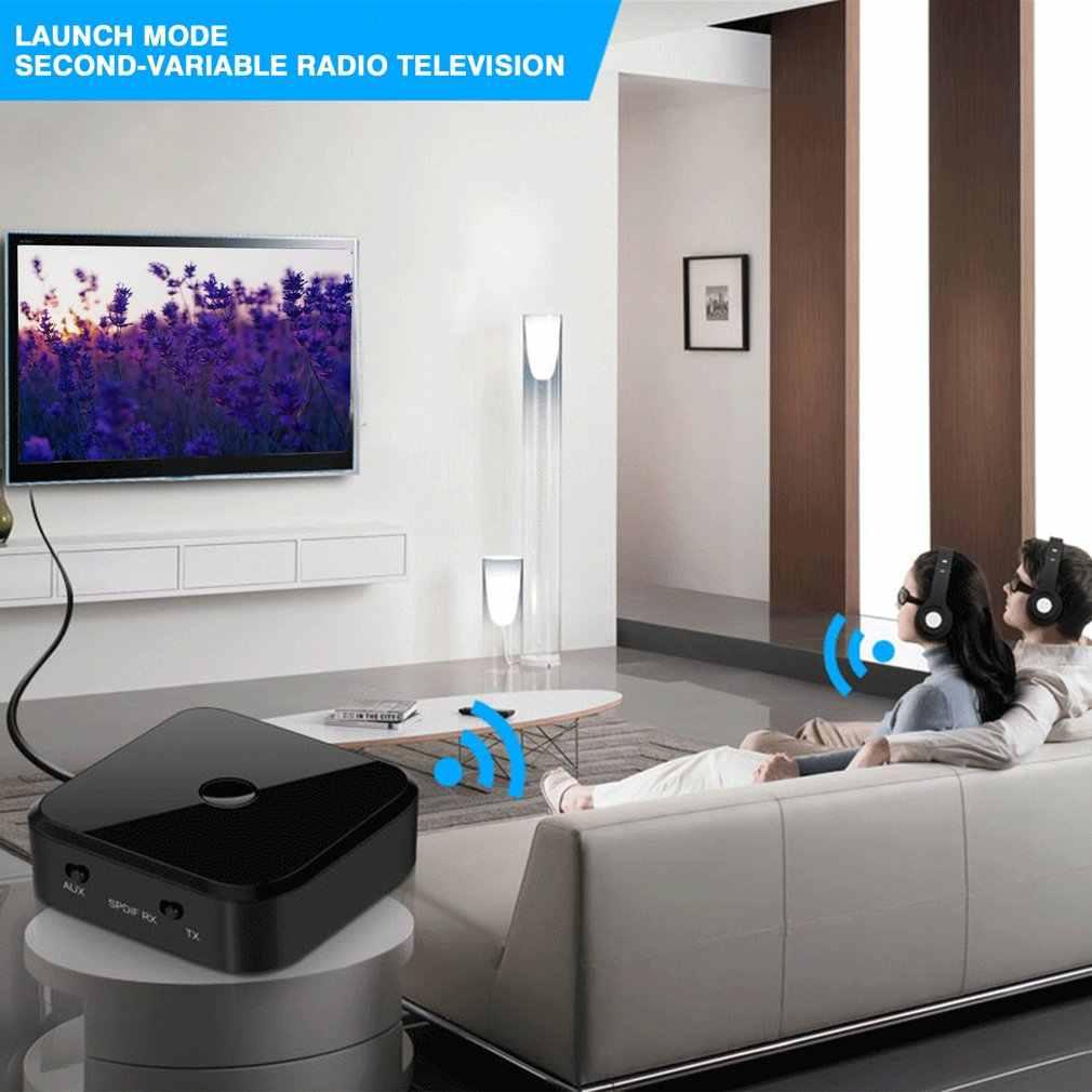 APTX 5.0 Adapter CSR8670 odbiornik i nadajnik do telewizora komputer stancjonarny HIFI Audio 3.5mm światłowód SPDIF