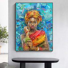 Современный мозаичный портрет постеры и принты настенная живопись