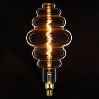 TIANFAN Edison Bulbs Honeycomb Giant Led Bulb Vintage Spiral Filament 4W Dimmable Decorative Light Bulb