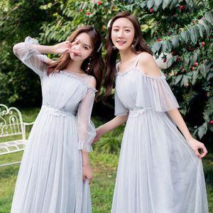 Image 5 - Платья подружки невесты, длинное женское платье для гостей свадьбы, платья для праздника, вечернее платье, 30069