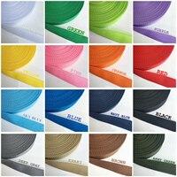 5yds 25mm Leinwand Band Nylon Gurtband Umreifung für Knapsack Umreifung Nähen Tasche Gürtel Zubehör