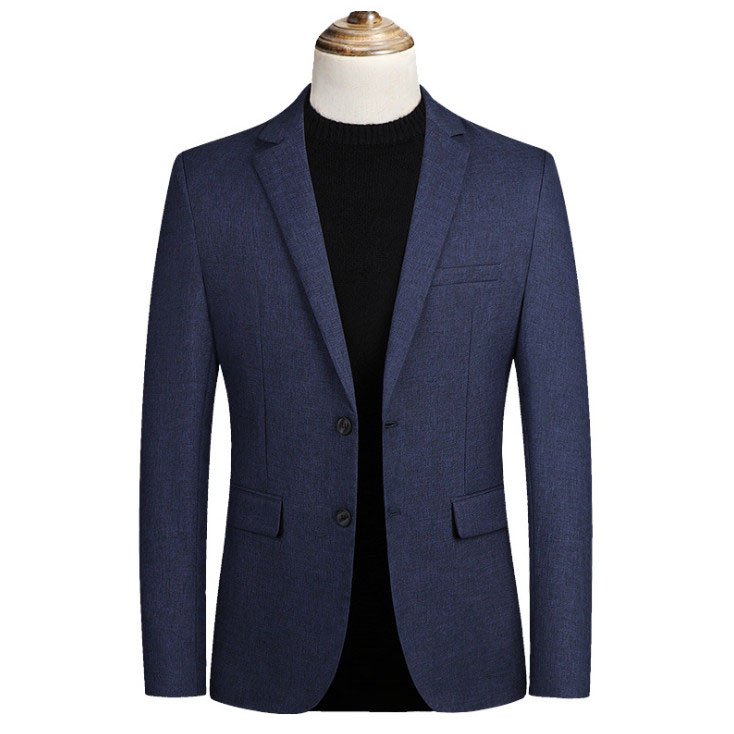 New Classic Mens Brand Blazer Jacket Men Slim Fit Bussiness Suit Jacket Male Casual Two Button Solid Suit Separate Jacket