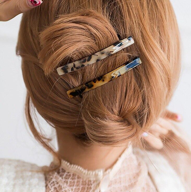 Korea Hairpin Leopard Print Spring Clip Headdress Hairpin Female Elegant For Female Girl Hair Clip G0130