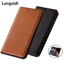Натуральная кожа магнитный держатель кошелек телефон сумка слот для карты держатель чехол для lenovo Z6 Pro/lenovo Z6/lenovo Z6 Lite чехол для телефона