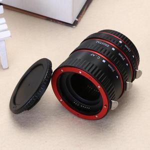 Image 5 - Adaptador de lente de cámara de enfoque automático AF Tubo de extensión Macro/anillo de montaje para objetivo CANON EF S para Canon EOS EF EF S 60D 7D 5D II 550D