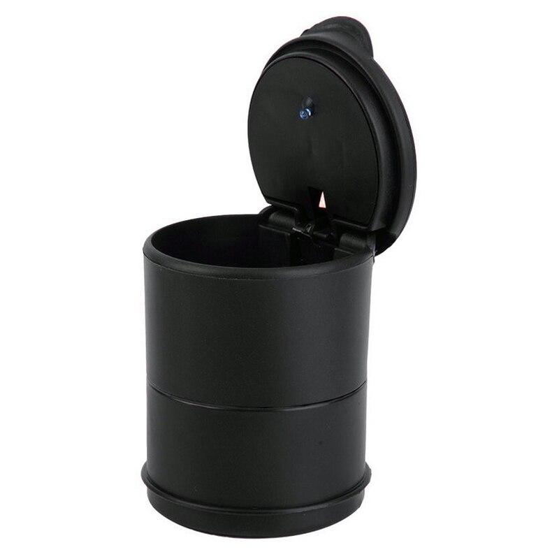 Автомобильная пепельница креативный пластиковый ABS черный пепельница для автомобиля портативный Авто Светодиодный светильник пепельница для сигарет автомобильные аксессуары|Пепельница в авто|   | АлиЭкспресс