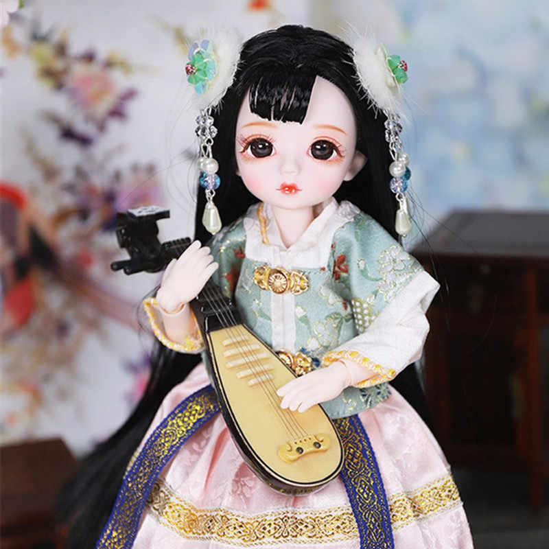ICY Factory 1/6 bjd 28 cuerpo articulado piel blanca con ropa zapatos tocado muñeca de juguete Linda