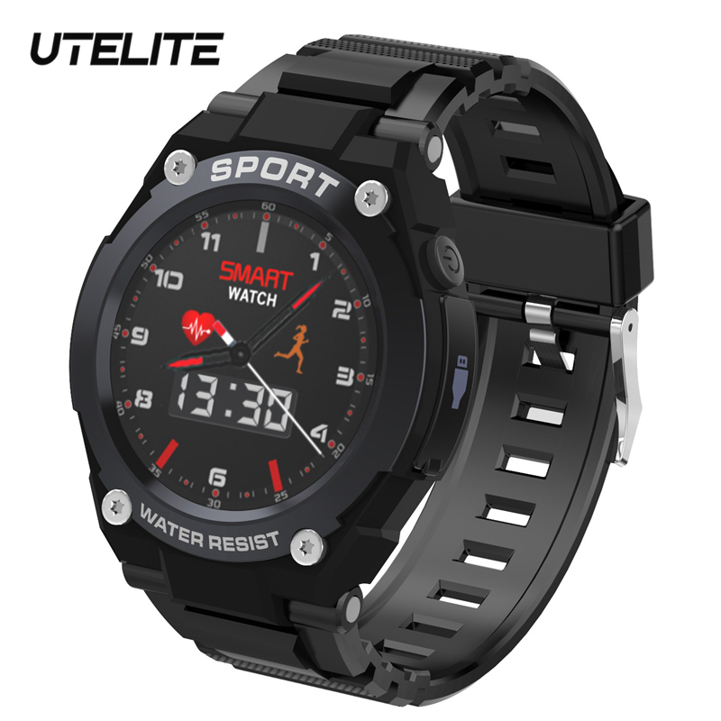 UTELITE GPS Smart Watch Bluetooth Call Sound Record Band TF Card Music Play Outdoor Sports Compasses Bracelet for Huawei Xiaomi