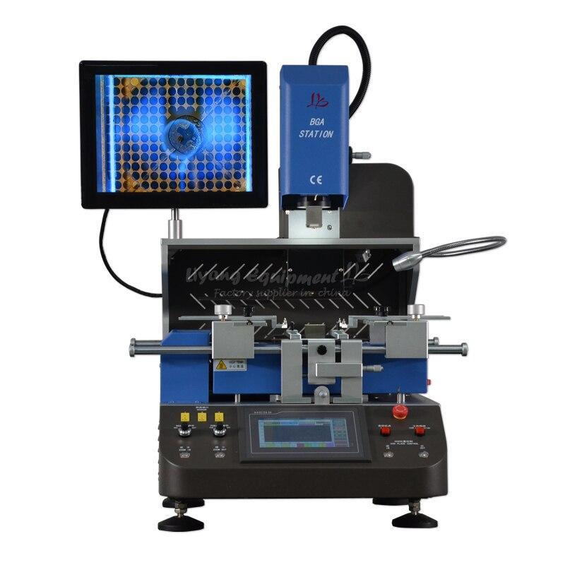 LY G750 système d'alignement automatique BGA Station de reprise pour ordinateurs portables et consoles de jeux 220V 5200W bleu