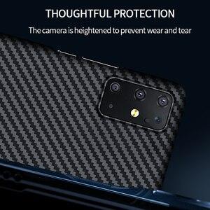 Image 4 - GRMA lüks gerçek saf karbon Fiber kapak için SAMSUNG Note20 S20 Ultra S10 artı S10e kılıf Samsung Galaxy Z flip SM F7000 kılıfı