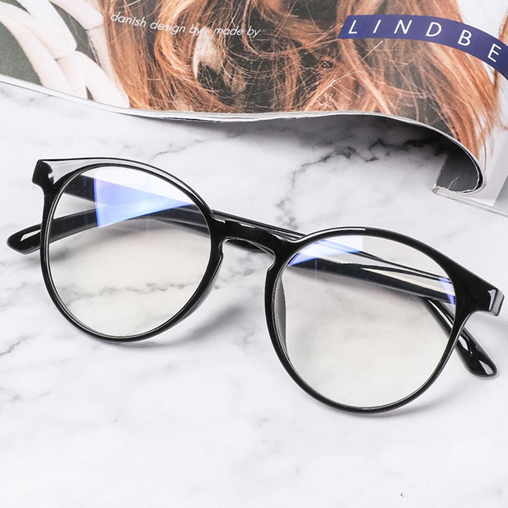 Blue Light Glasses PC Frame&Resin Lens Anti Blue Light Blocking Radiation Sunglasses Unisex Trend Clear Lenses Computer Glasses