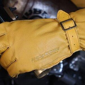 Winter warm motorcycle gloves