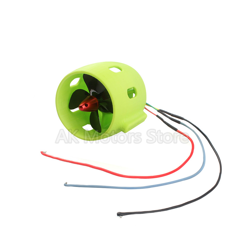 RC Nesting Boat Electric Equipment 12V-24V 30-200W Brushless Motor Underwater Thruster For Pulling Net Boat DIY Robot Propeller